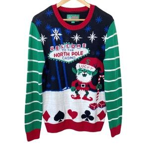 Ugly Christmas Sweater Mens Small/Womens Oversized